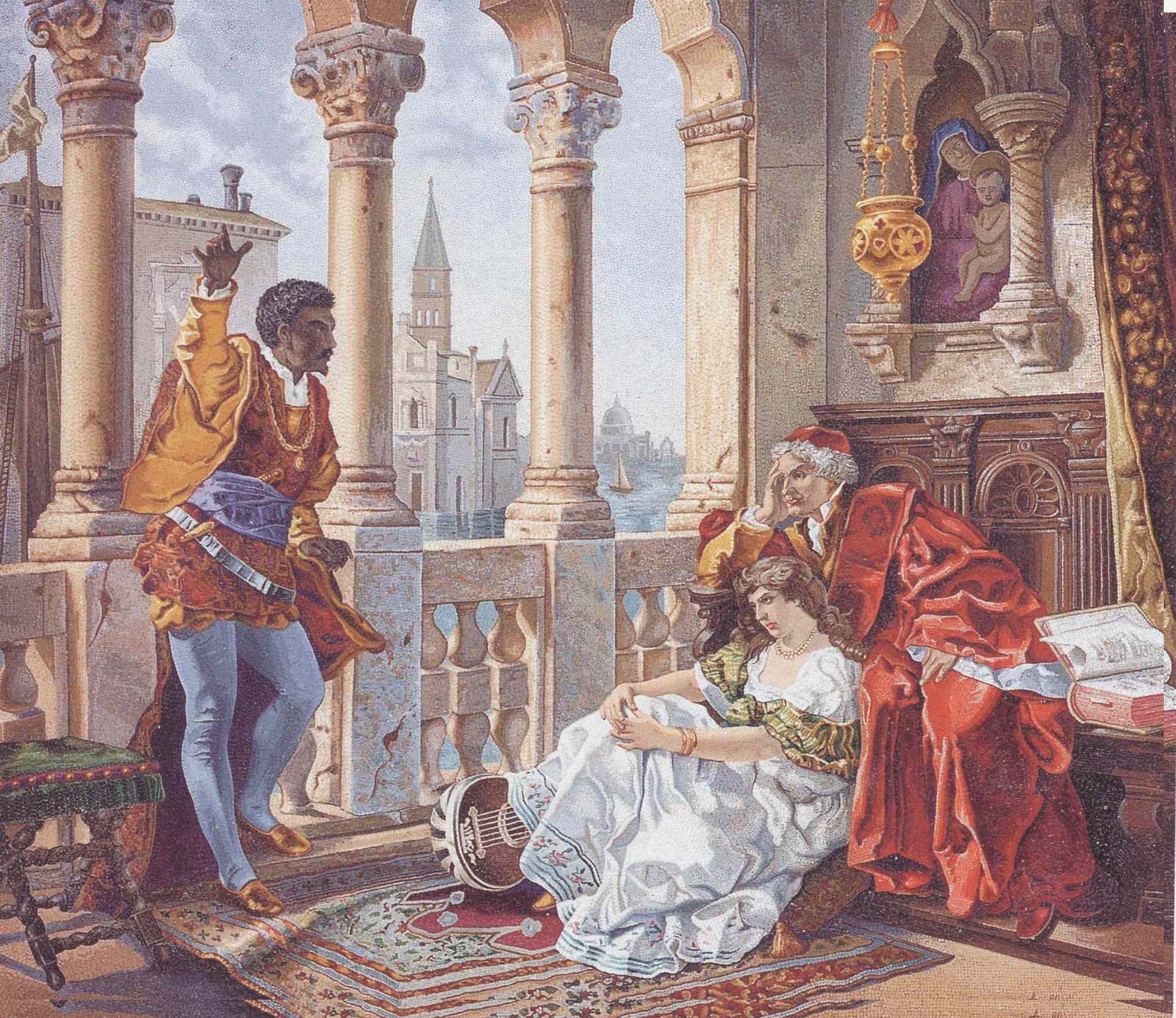 desdemonas role in othello Desdemona is a central character in william shakespeare's 'othello' explore an analysis of desdemona's character and learn about the significance of her role in the story.